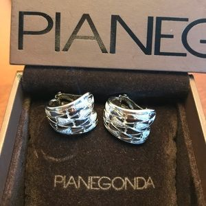 Pianegonda 925 Authentic Sterling Silver- Earrings